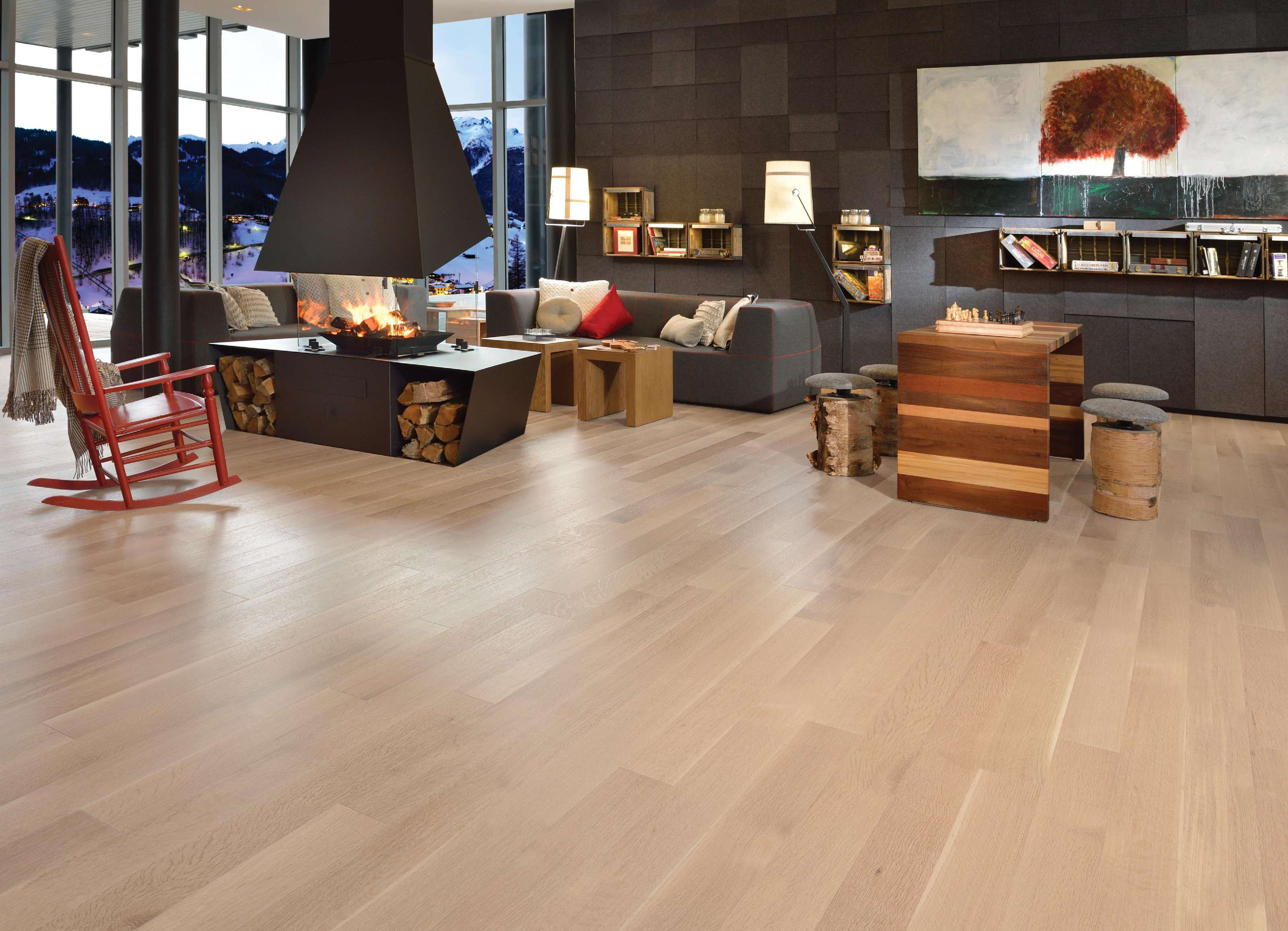 Alive white oak r q isla mirage hardwood floors for Mirage hardwood flooring