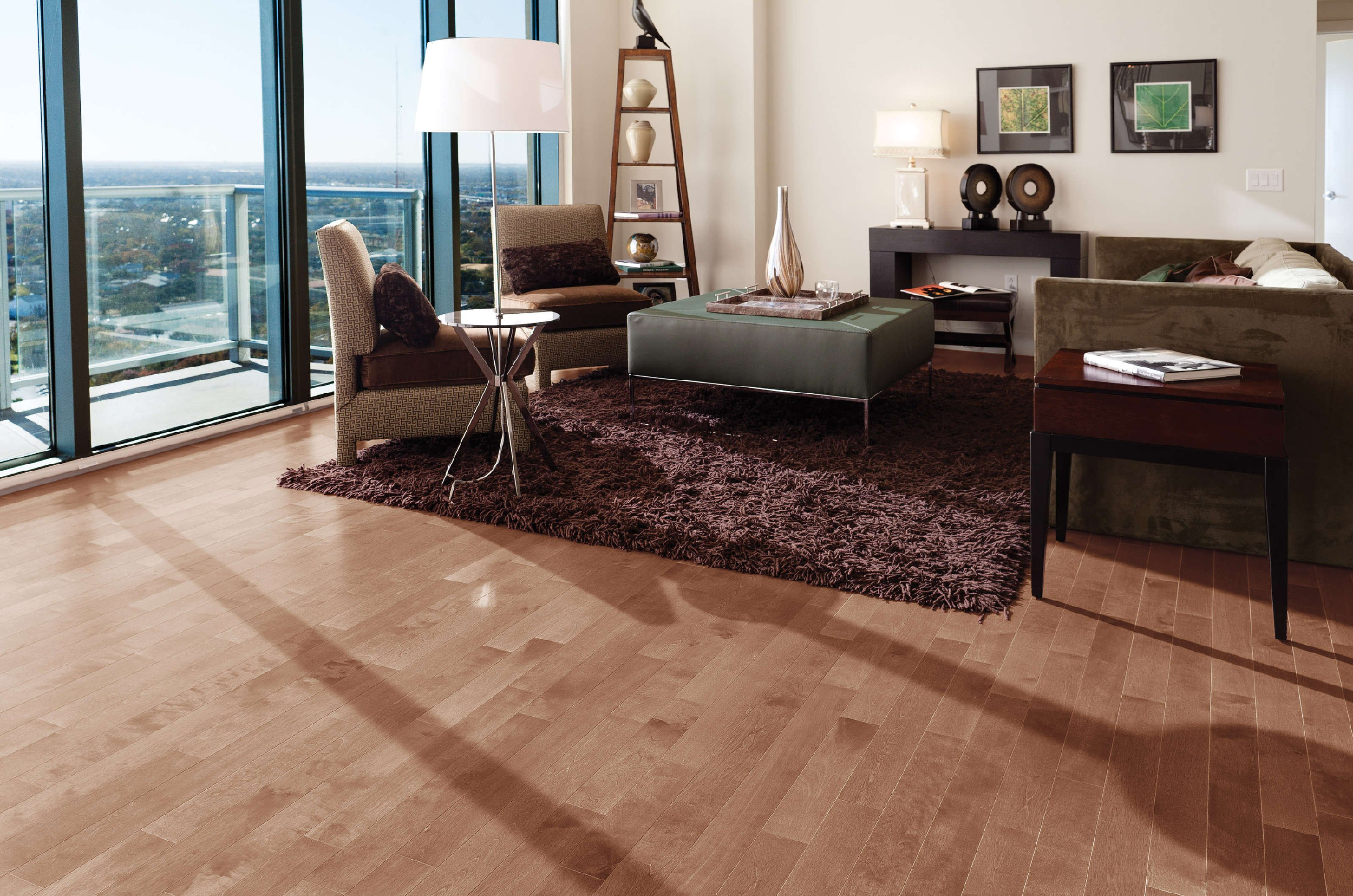 Admiration yellow birch sierra mirage hardwood floors for Mirage hardwood flooring
