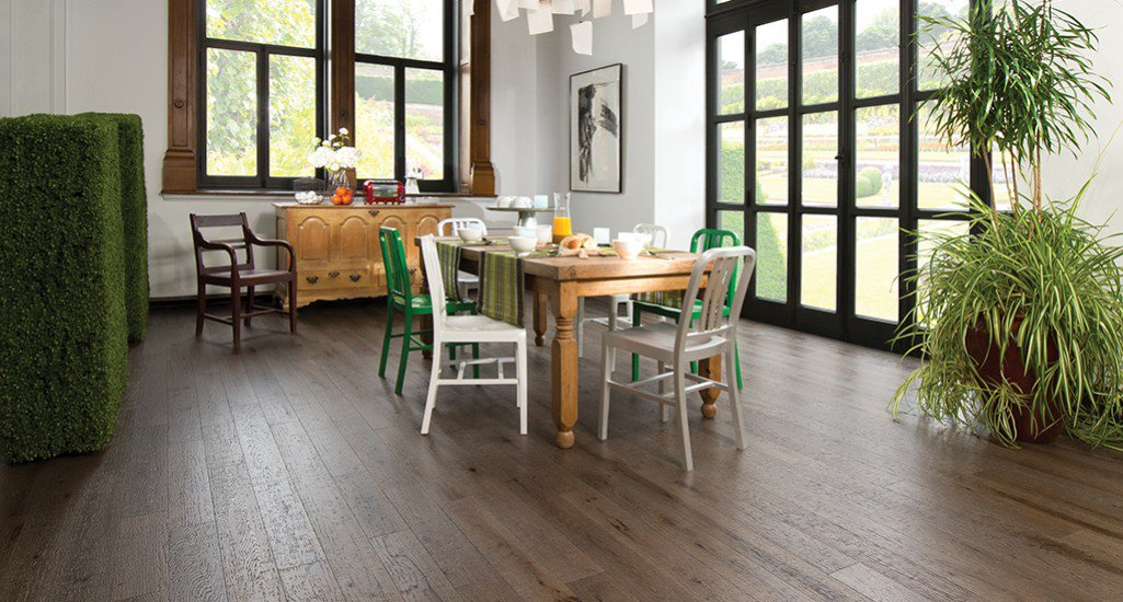 Barn wood ceramic tile