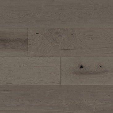 Brown Maple Hardwood flooring / Dark Leaf Mirage Flair