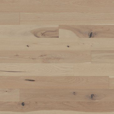 Pale grey Hickory Hardwood flooring / Desert rose Mirage Herringbone
