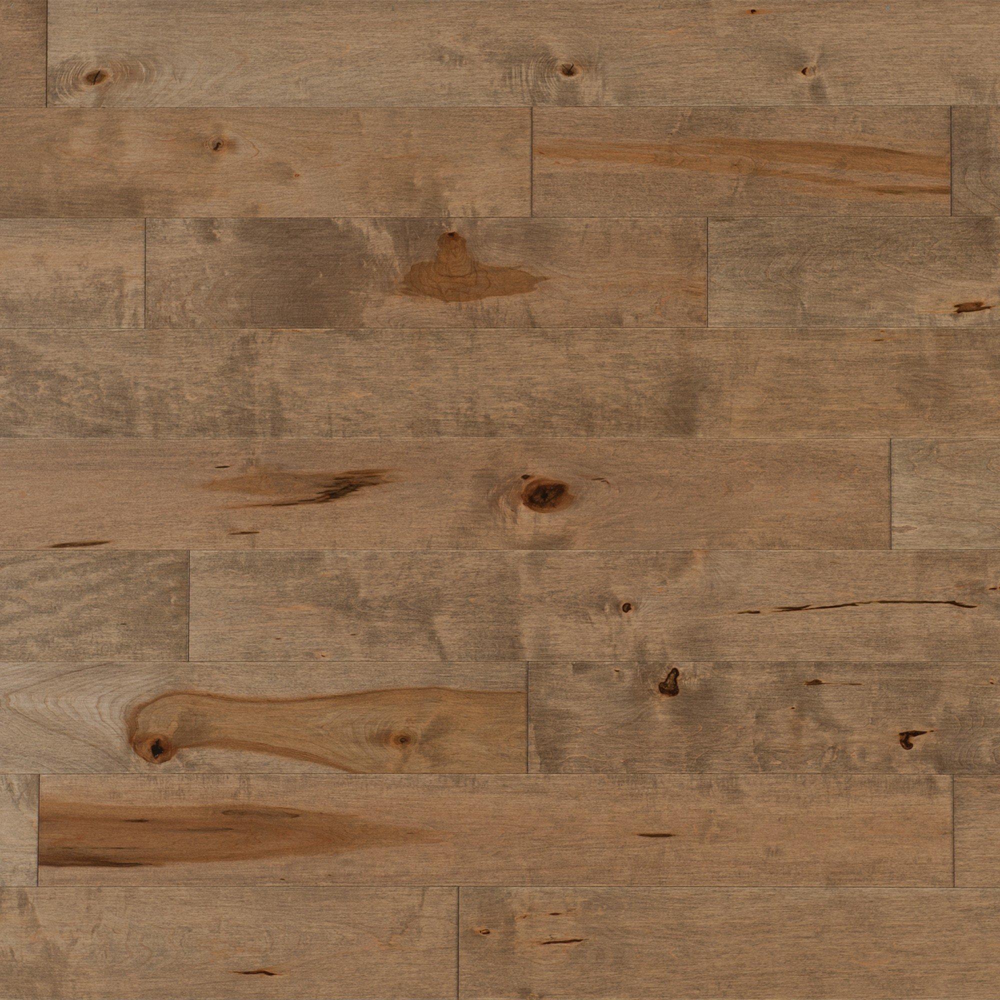 Érable Nougat Caractère Lisse - Image plancher