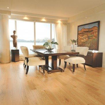 Golden Red Oak Hardwood flooring / Golden Mirage Herringbone / Inspiration