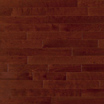Reddish-brown Yellow Birch Hardwood flooring / Canyon Mirage Admiration