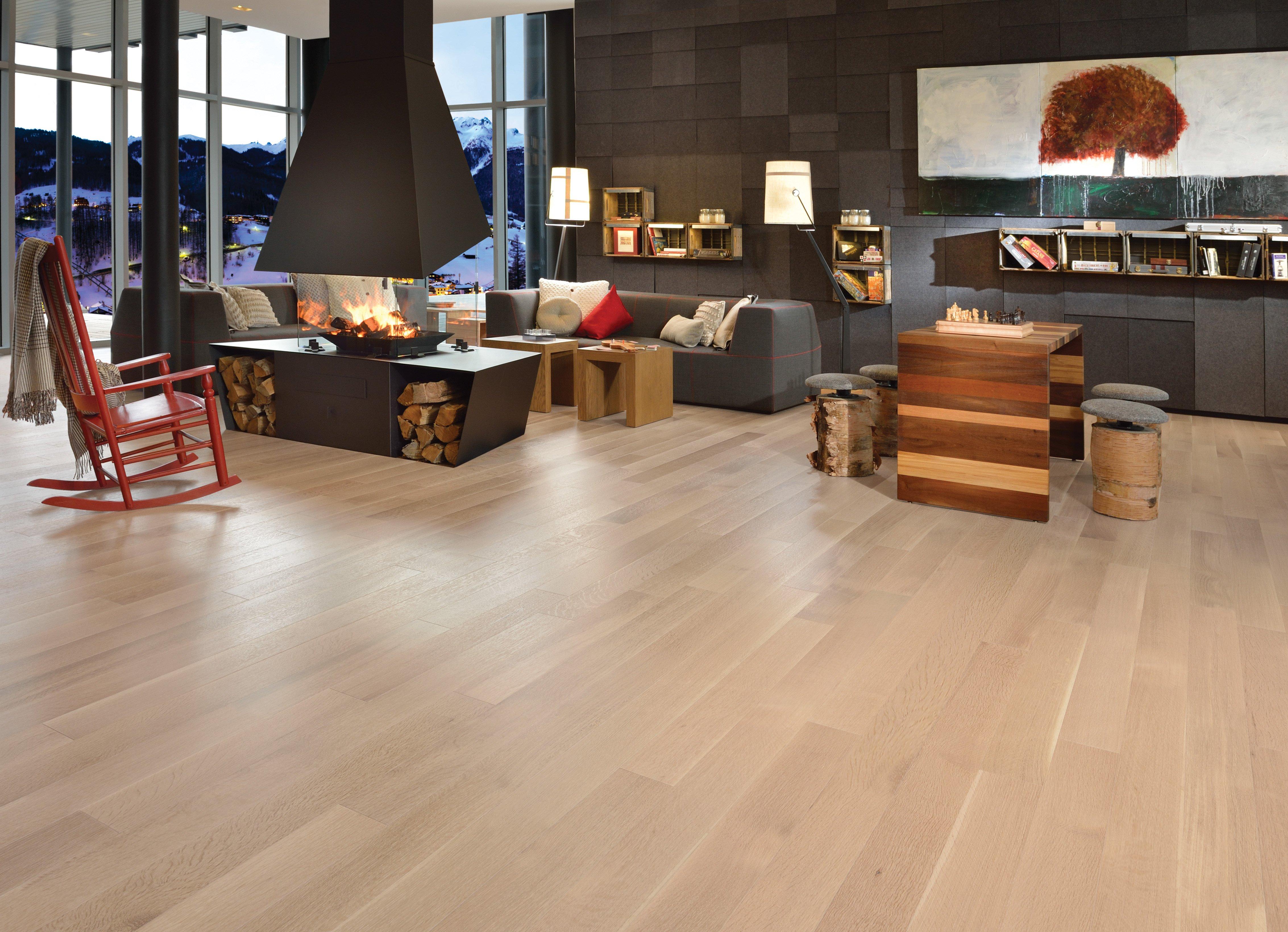 Admiration White Oak R&Q Isla Mirage Hardwood Floors