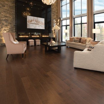 Brown Maple Hardwood flooring / Havana Mirage Herringbone / Inspiration
