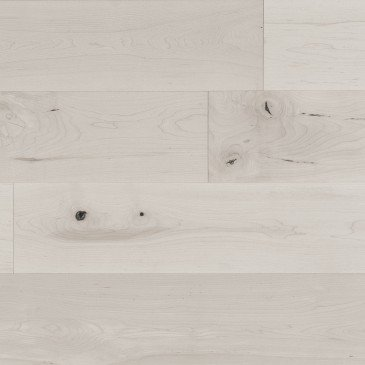 White Maple Hardwood flooring / Snowdrift Mirage Flair