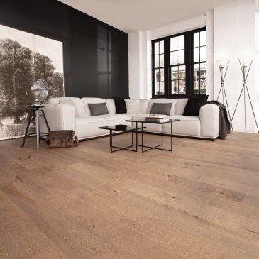 Grey Maple Hardwood flooring / Papyrus Mirage Imagine / Inspiration