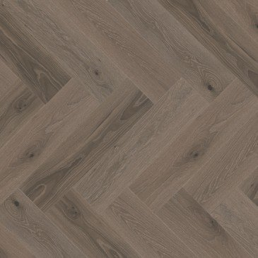 Grey White Oak Hardwood flooring / Roller Coaster Mirage Herringbone