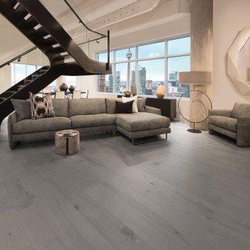 Grey Maple Hardwood flooring / Peppermint Mirage Herringbone / Inspiration