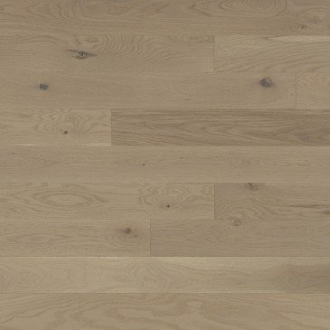 Pale grey White Oak Hardwood flooring / Stardust Mirage Flair