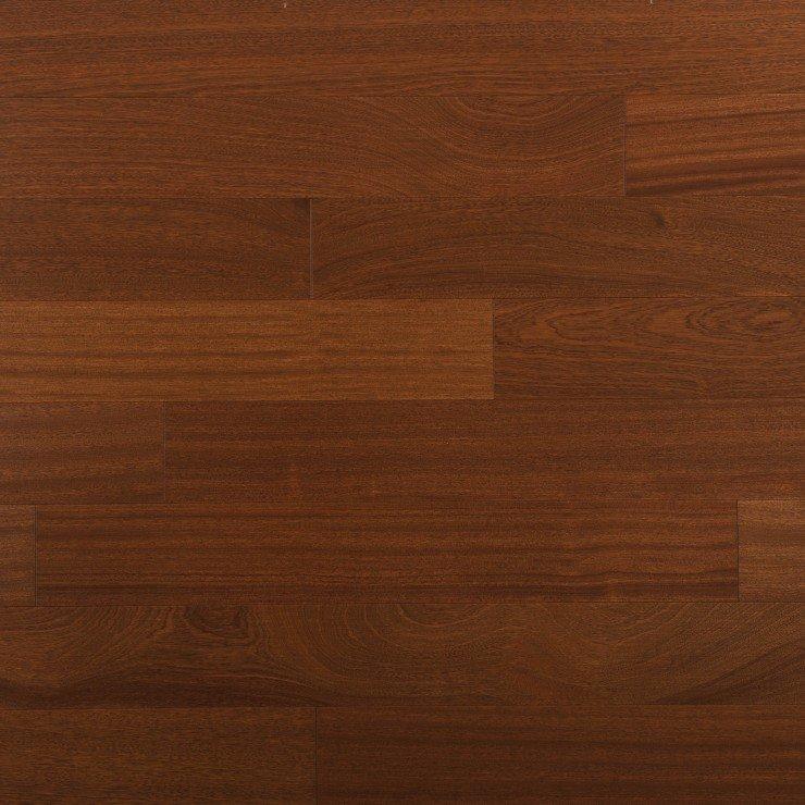 Planchers de bois franc acajou africain / Mirage