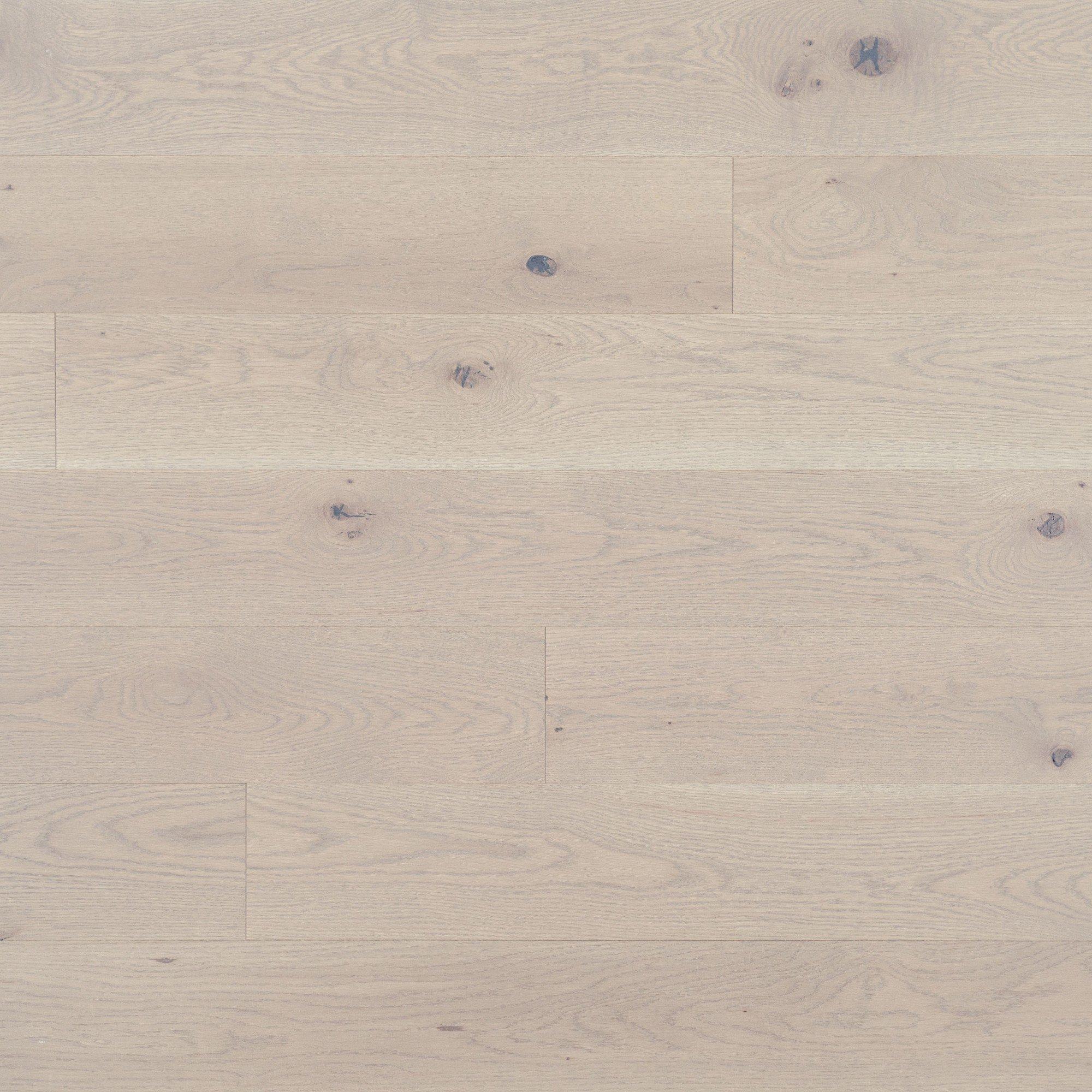 Chêne blanc Snowdrift Caractère Prononcé - Image plancher