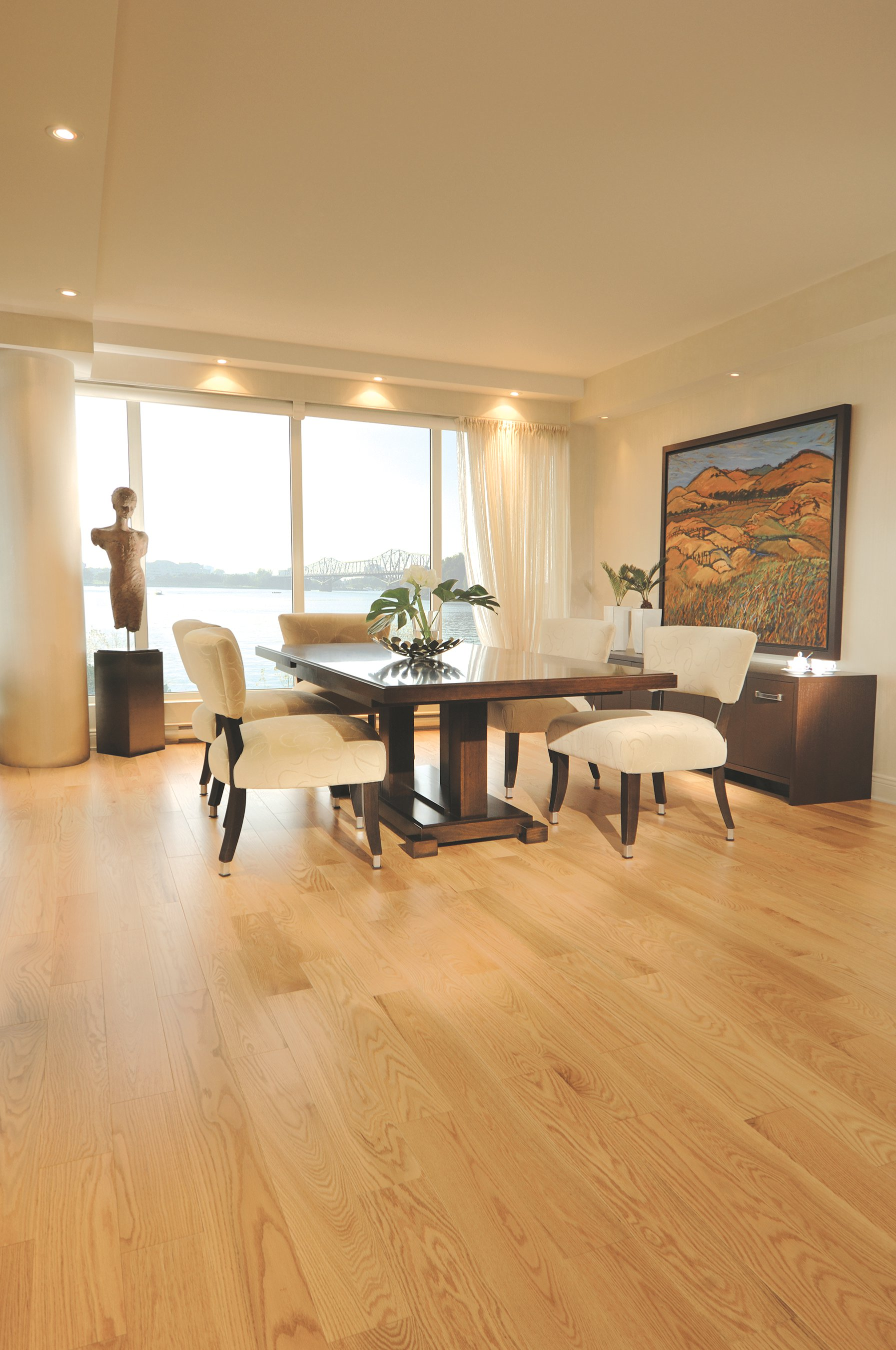Red Oak Golden Exclusive Smooth - Ambience image
