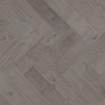 Grey Maple Hardwood flooring / Peppermint Mirage Herringbone