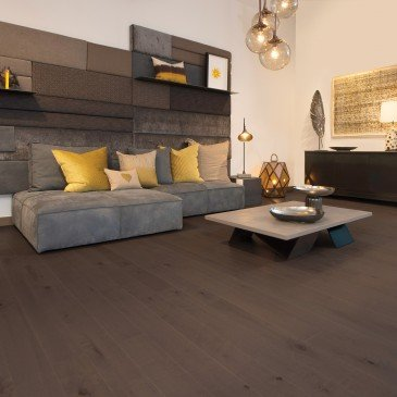 Brown Maple Hardwood flooring / Nightfall Mirage Herringbone / Inspiration
