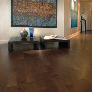 Brown Maple Hardwood flooring / Umbria Mirage Herringbone / Inspiration