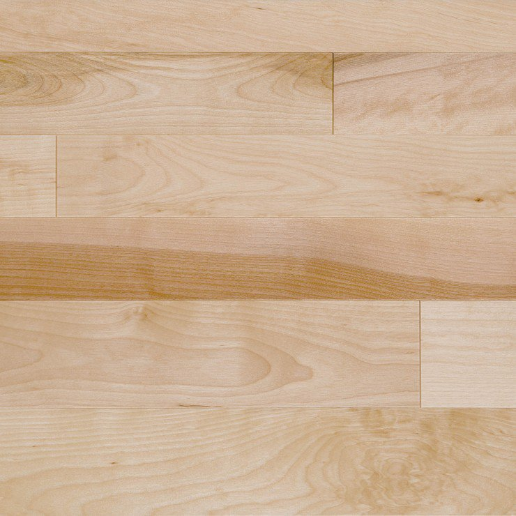 Yellow Birch Hardwood flooring / Mirage