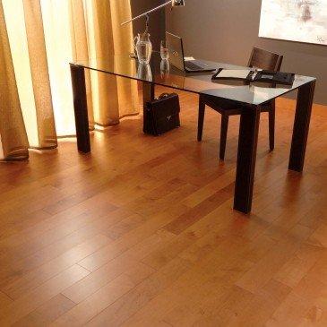 Planchers de bois franc Érable Orangé / Mirage Admiration Auburn / Inspiration