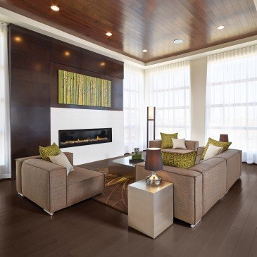 Brown Maple Hardwood flooring / Waterloo Mirage Admiration / Inspiration