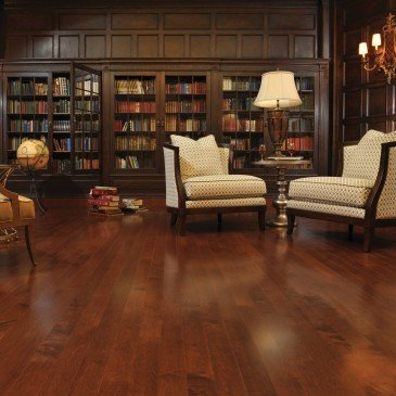 Reddish-brown Maple Hardwood flooring / Canyon Mirage Admiration / Inspiration