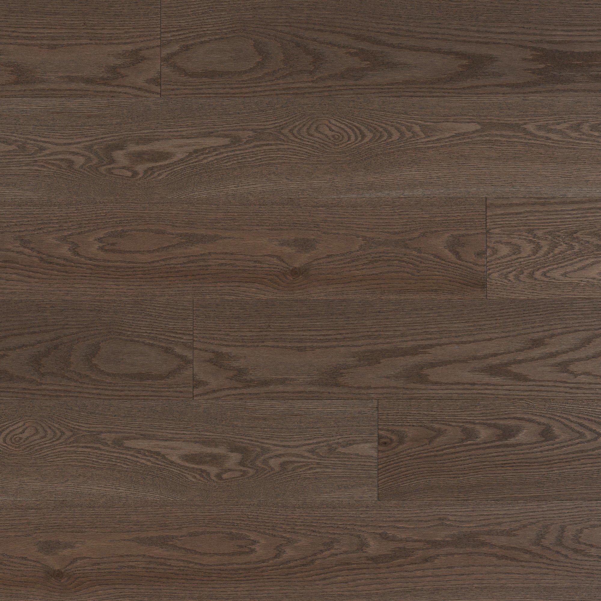 Chêne rouge Charcoal Exclusive Brossé - Image plancher