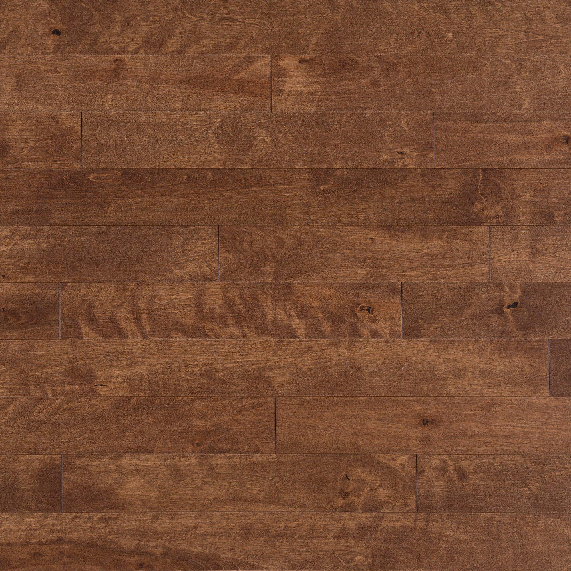 Merisier Praline Caractère Lisse - Image plancher