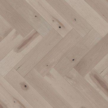 Planchers de bois franc Érable Brun / Mirage Herringbone Sand Dune