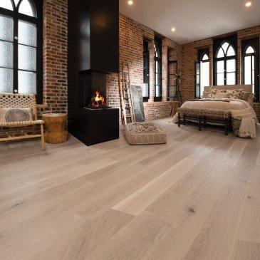 White White Oak Hardwood flooring / Carousel Mirage Sweet Memories / Inspiration