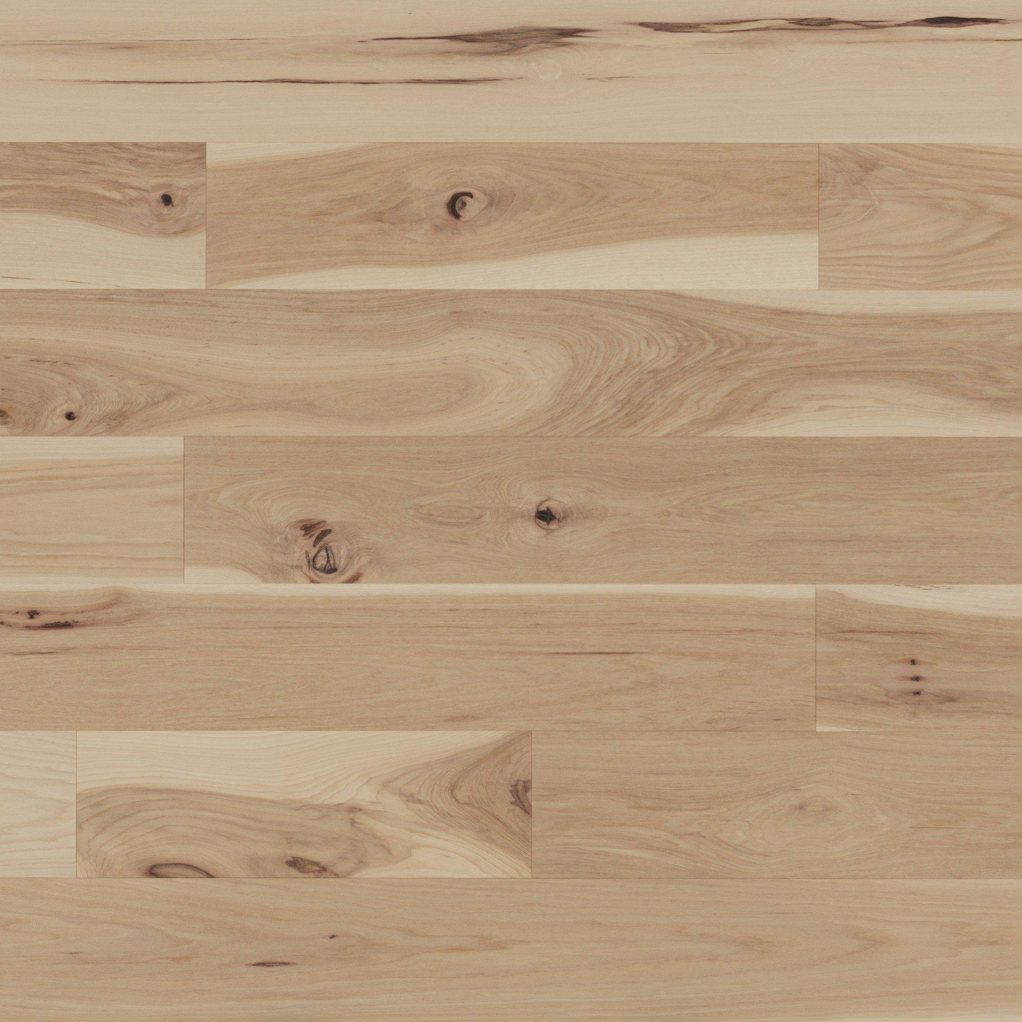 Hickory Sandy Reef Caractère Brossé - Image plancher