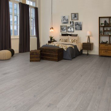 Grey Red Oak Hardwood flooring / Driftwood Mirage Imagine / Inspiration