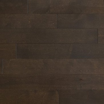 Brown Yellow Birch Hardwood flooring / Waterloo Mirage Admiration