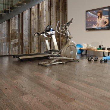 Grey Red Oak Hardwood flooring / Rock Cliff Mirage Imagine / Inspiration