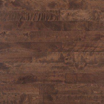 Brown Yellow Birch Hardwood flooring / Gingerbread Mirage Sweet Memories