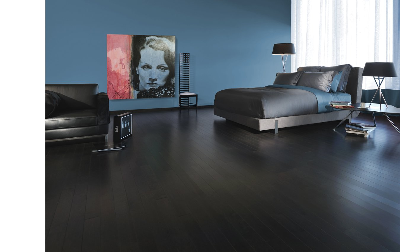 Herringbone Maple Graphite Mirage Hardwood Floors