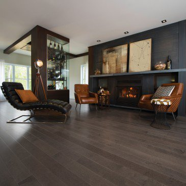 Érable Charcoal Exclusive Lisse - Image plancher