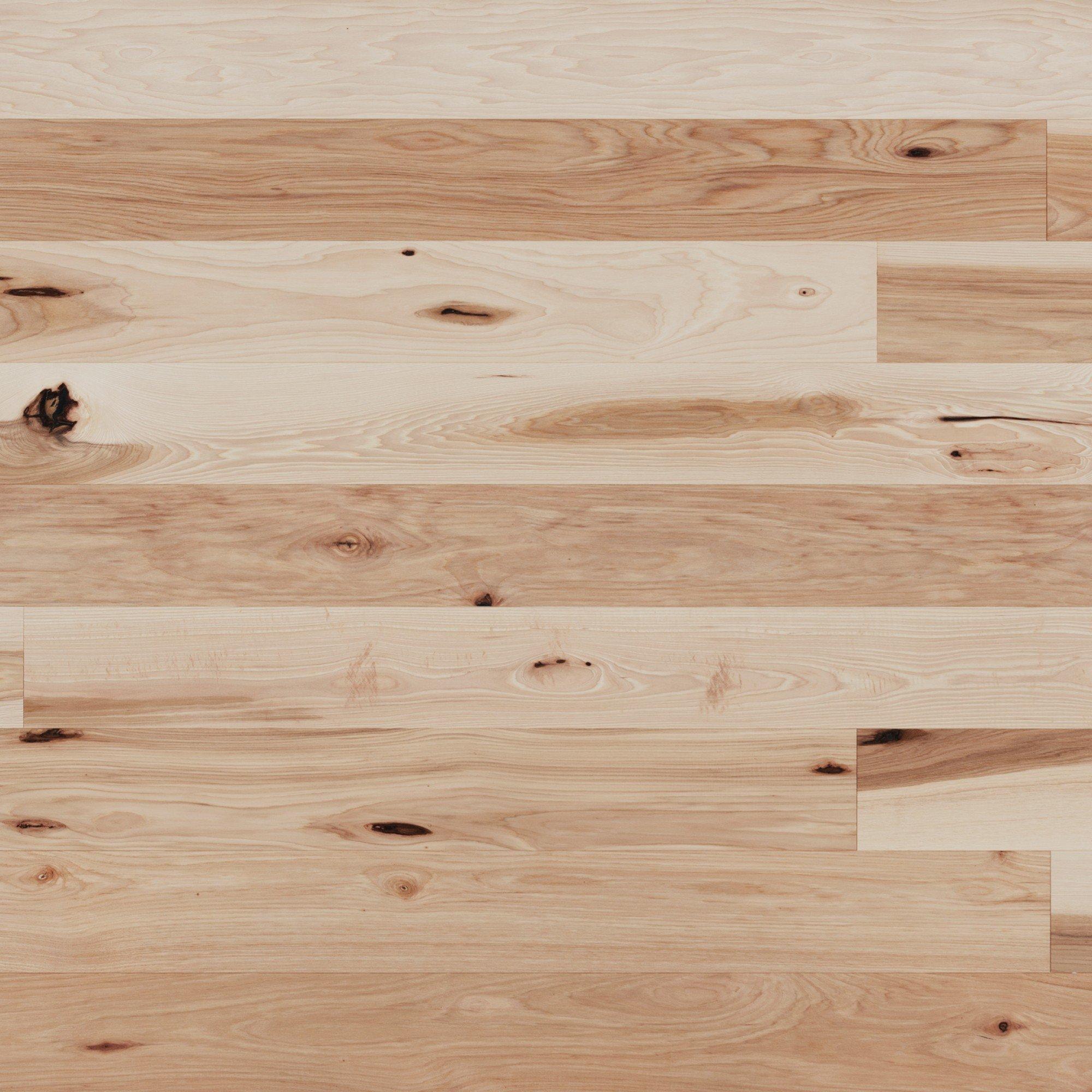 Hickory Caractère Brossé - Image plancher