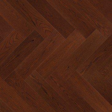 Planchers de bois franc Chêne Rouge Rougeâtre / Mirage Herringbone Canyon
