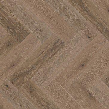 Beige White Oak Hardwood flooring / Sand Castle Mirage Herringbone