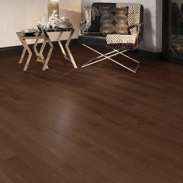 Brown Maple Hardwood flooring / North Hatley Mirage Admiration / Inspiration