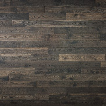 Brown White Oak Hardwood flooring / Lunar Eclipse Mirage Herringbone