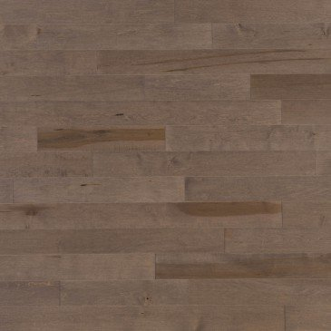 Brown Maple Hardwood flooring / Greystone Mirage Admiration