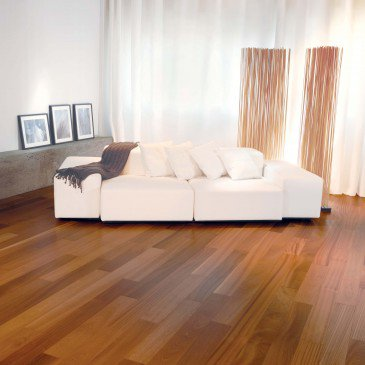 Natural Sapele Hardwood flooring / Natural Mirage Exotic / Inspiration