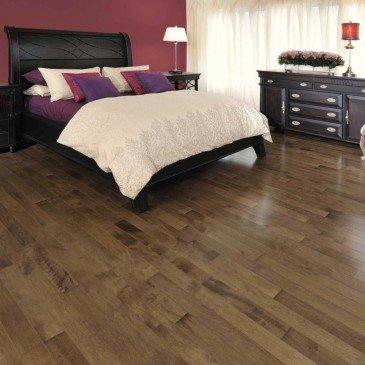 Brown Maple Hardwood flooring / Savanna Mirage Herringbone / Inspiration