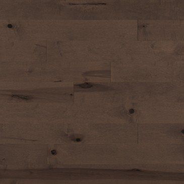 Brown Maple Hardwood flooring / Nightfall Mirage Herringbone