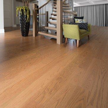 Golden Red Oak Hardwood flooring / Sierra Mirage Herringbone / Inspiration
