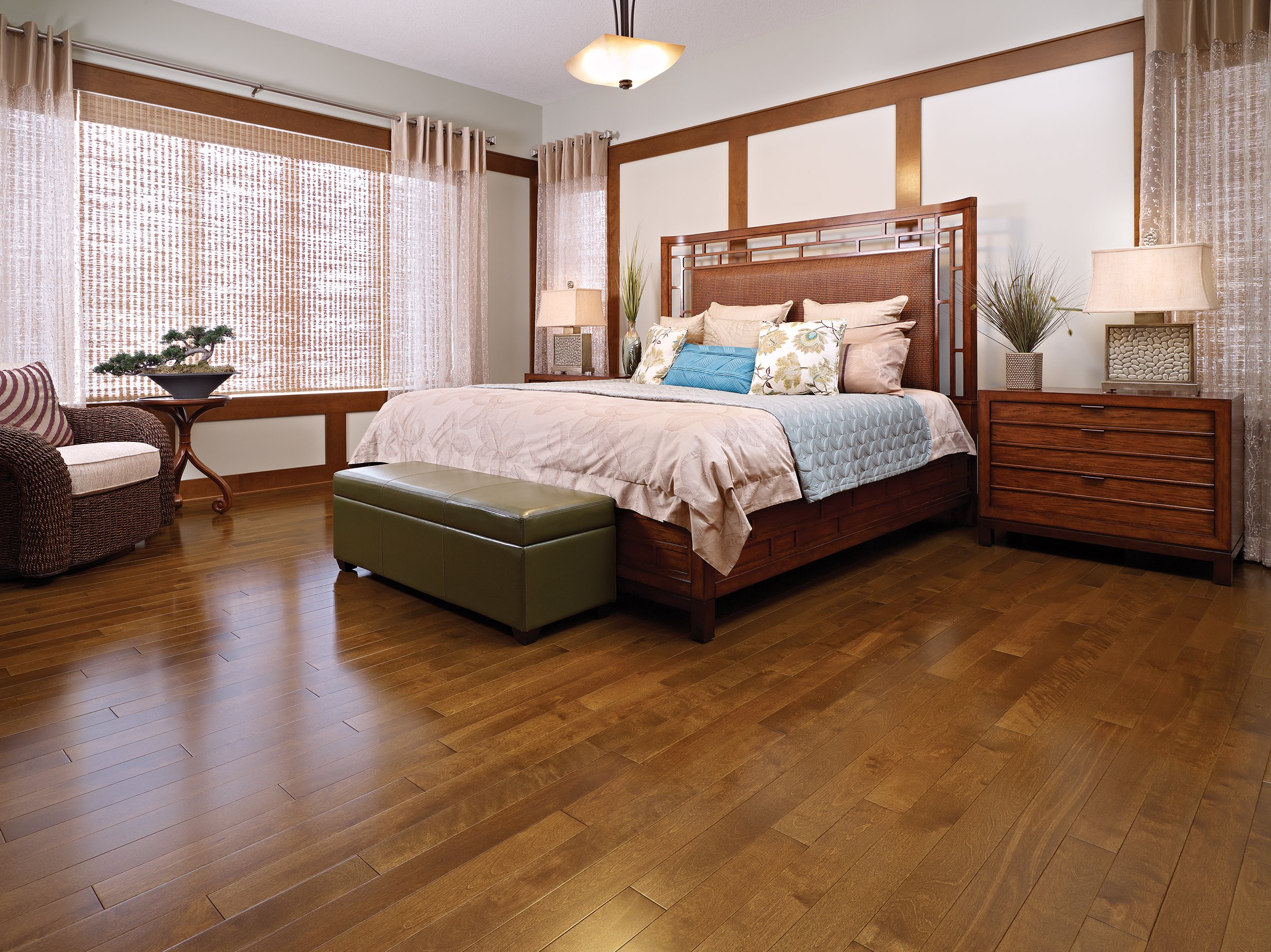 Admiration yellow birch rich oak mirage hardwood floors for Mirage hardwood flooring