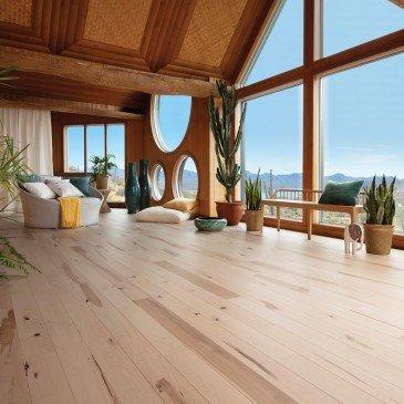 Planchers de bois franc Érable Naturel / Mirage Herringbone Naturel / Inspiration