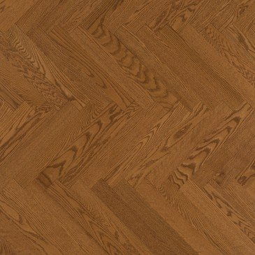 Golden Red Oak Hardwood flooring / Sierra Mirage Herringbone