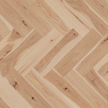 Beige Hickory Hardwood flooring / Sandy reef Mirage Herringbone